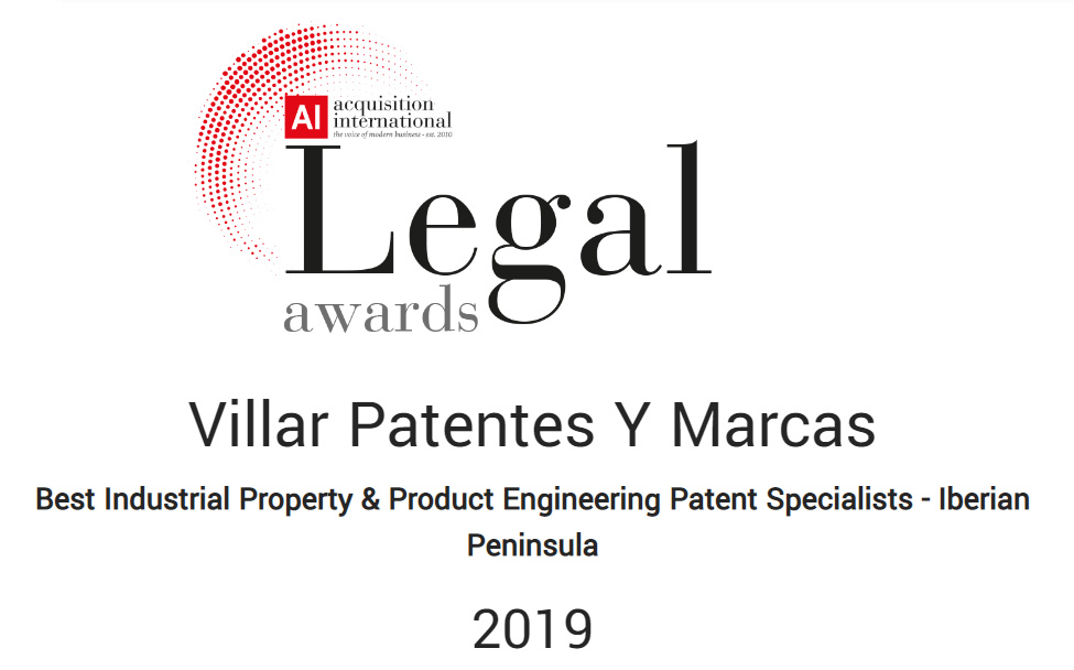 Legal awards 2019 – acquisition internacional